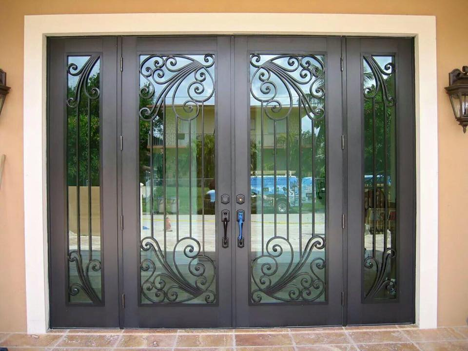Impact-Glass-Doors-Miami : protect door - Pezcame.Com