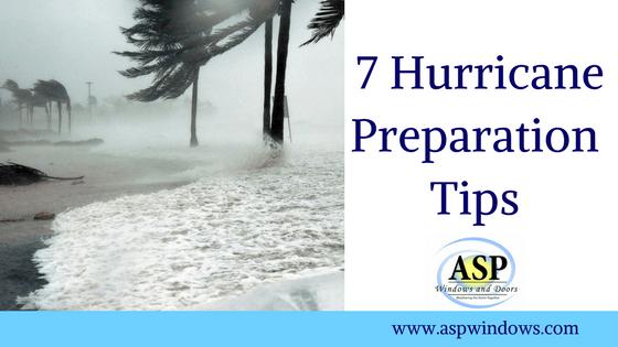 7 Hurricane Preparation Tips