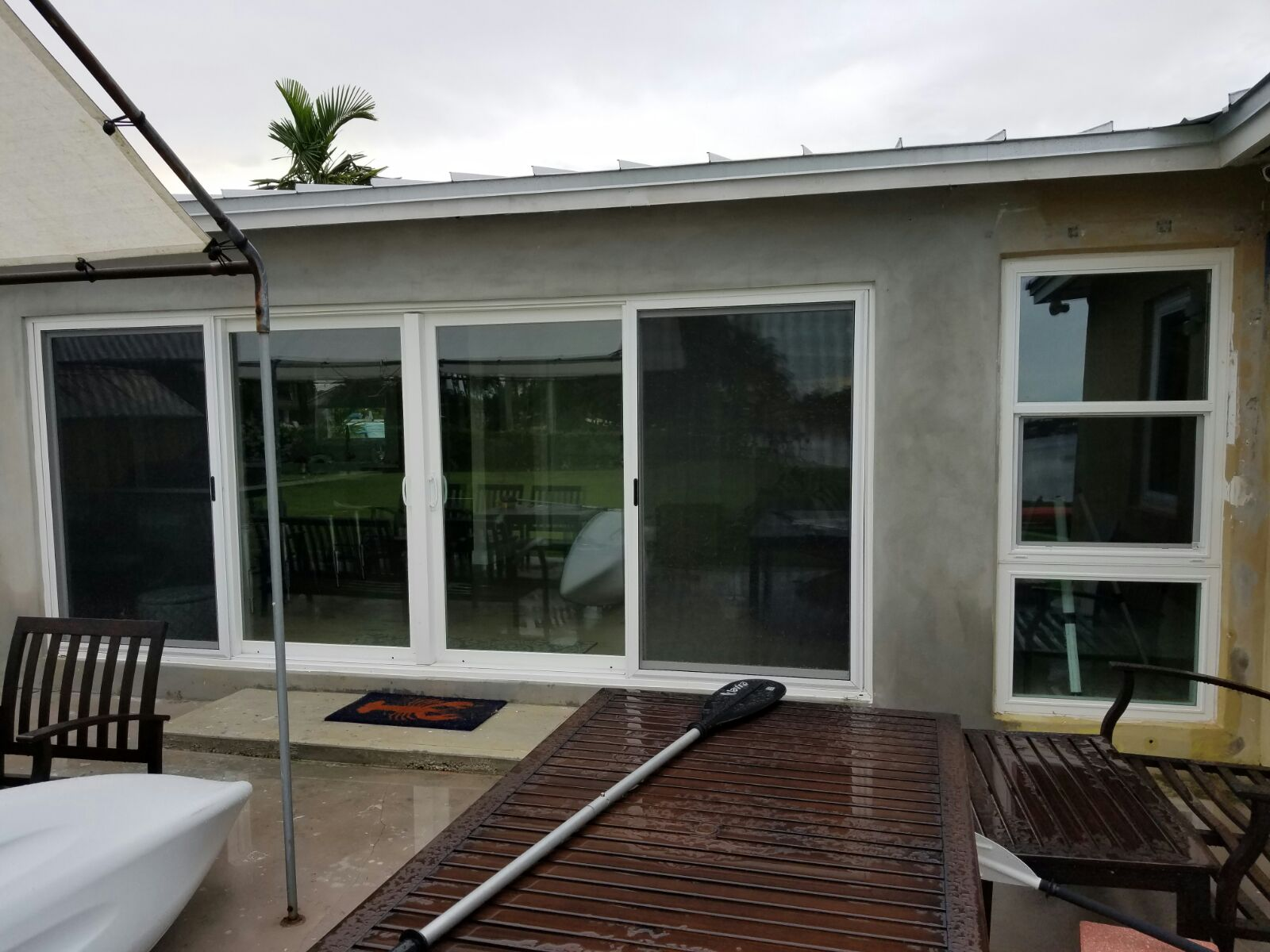 Recently Completed Projects Hurricane Resistant Patio