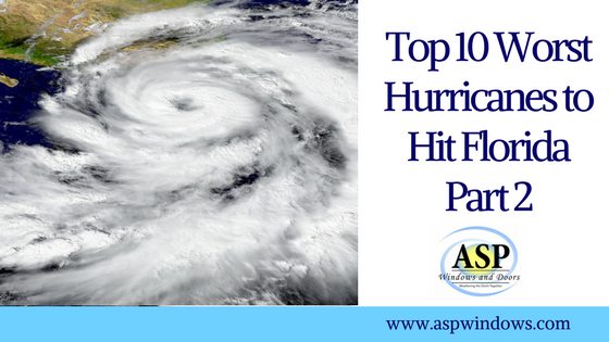 Top 10 Worst Hurricanes to Hit Florida