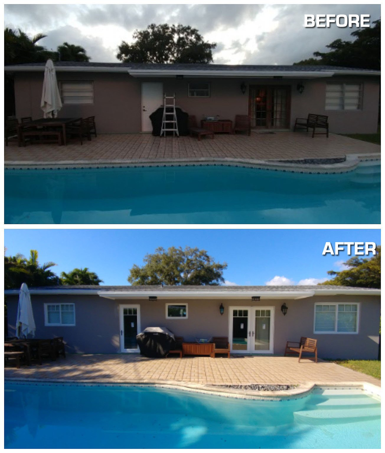 Before and after photos hurricane resistant patio doors impact impact windows miami planetlyrics Images