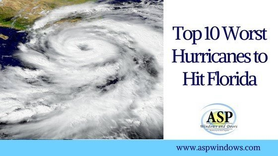 top 10 worst hurricanes to hit florida part 1