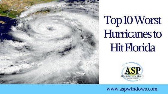 top 10 worst hurricanes to hit florida part 1